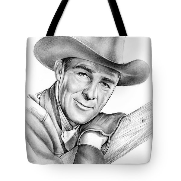 Randolph Scott Tote Bag