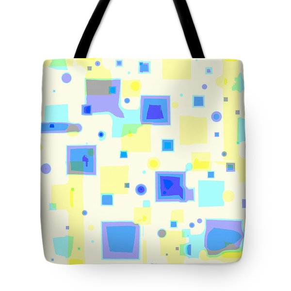 Random Blips Tote Bag