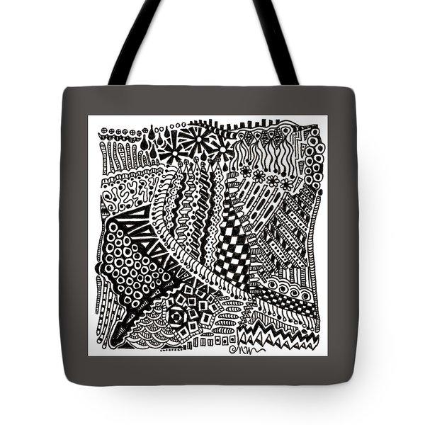 Random Iv Tote Bag