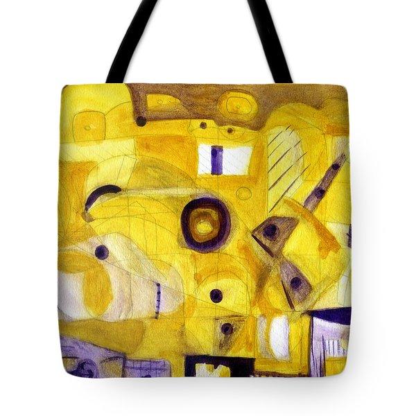 Random Landscape Tote Bag