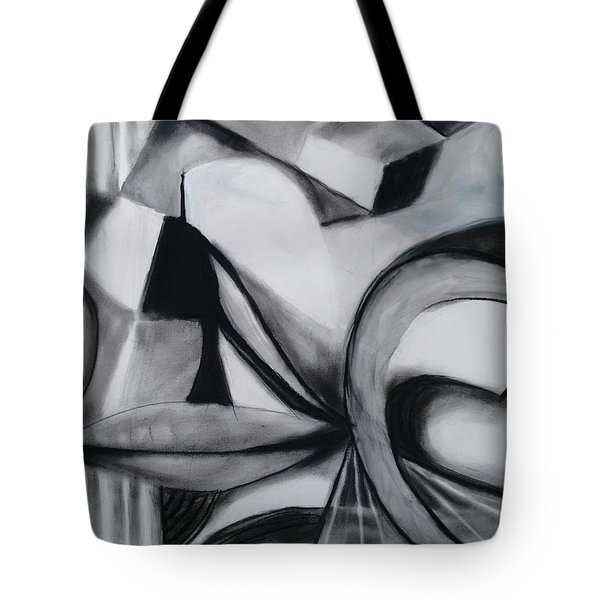 Random Shapes Tote Bag