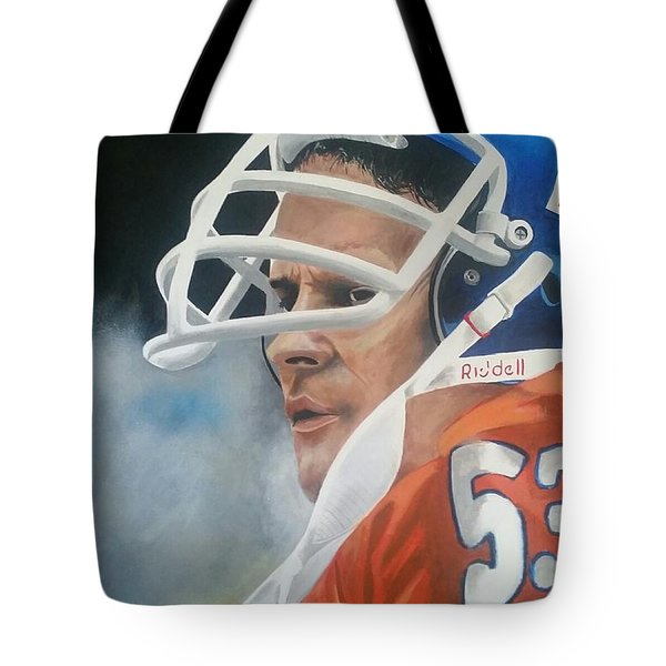 Randy Gradishar Tote Bag