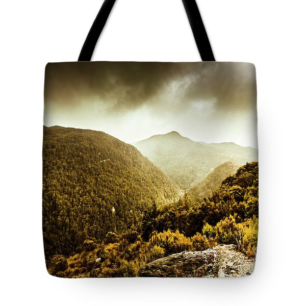Range Of Scenic Country Tote Bag