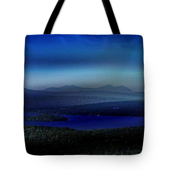 Rangeley Magic Sunset Tote Bag