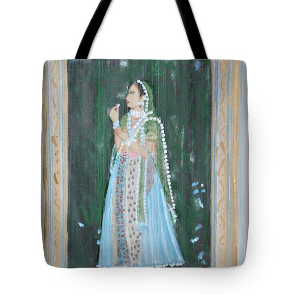Rani Waiting For Her Raja Tote Bag