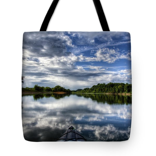 Tote Bag featuring the photograph Rankin Bottoms Hdr by Douglas Stucky