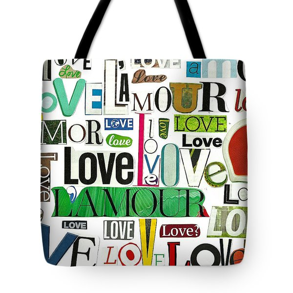 Ransom Art - Love Tote Bag