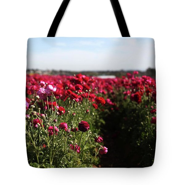 Ranunculus Field Tote Bag