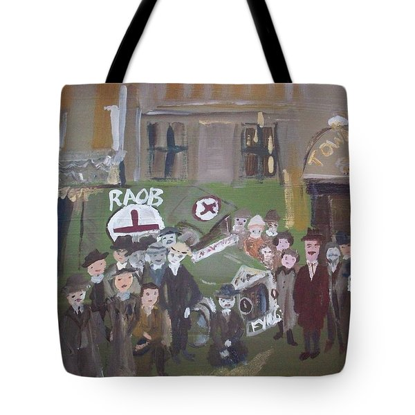 Raob Ambulance Tote Bag by Judith Desrosiers