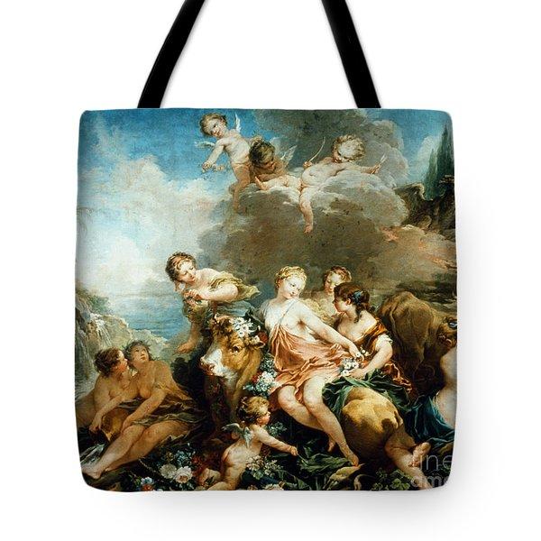 Rape Of Europa Tote Bag by Granger