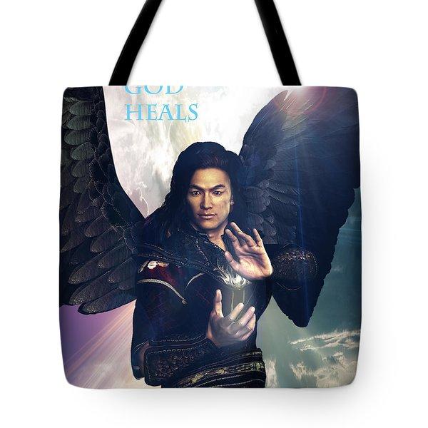 Raphael Heals 7 Tote Bag by Suzanne Silvir