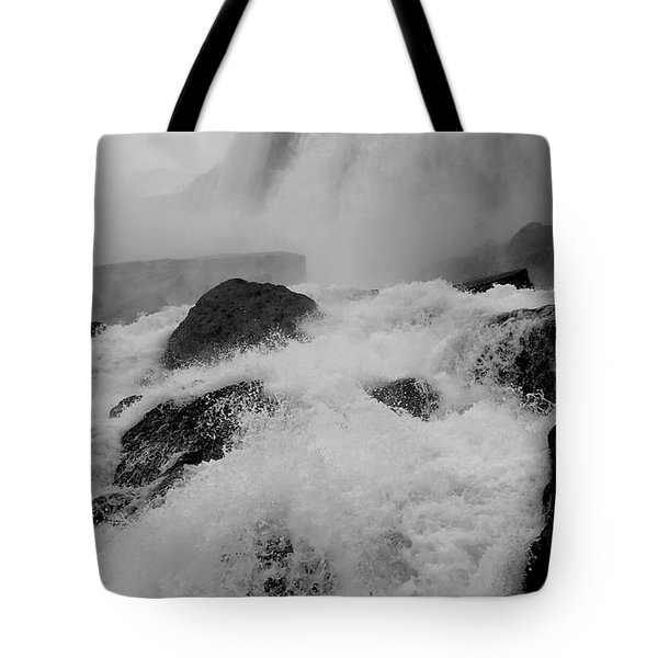 Tote Bag featuring the photograph Rapid Stream by Raymond Earley