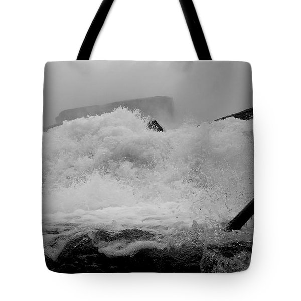 Tote Bag featuring the photograph Rapids  by Raymond Earley
