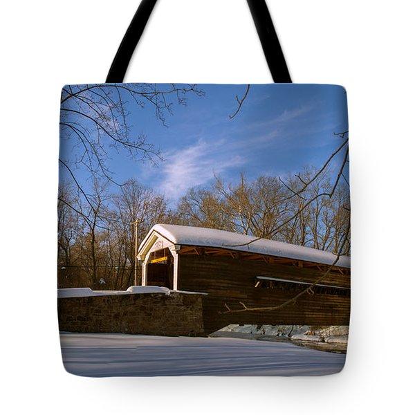 Rapps Bridge Tote Bag