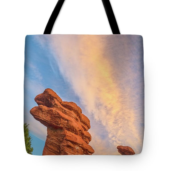 Rapt With Joy At The Presence Of Such Splendor  Tote Bag