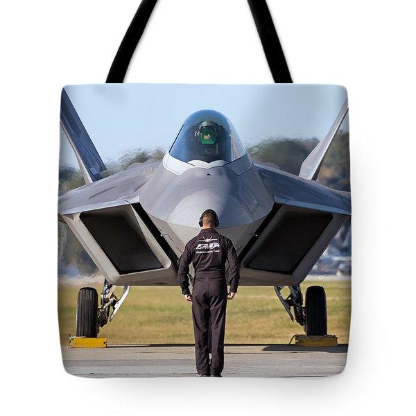 Raptor Handler II Tote Bag