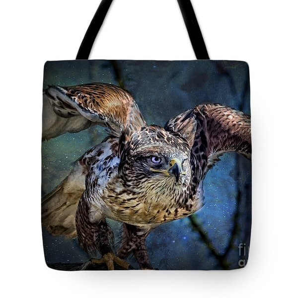 Raptor Hunter Tote Bag