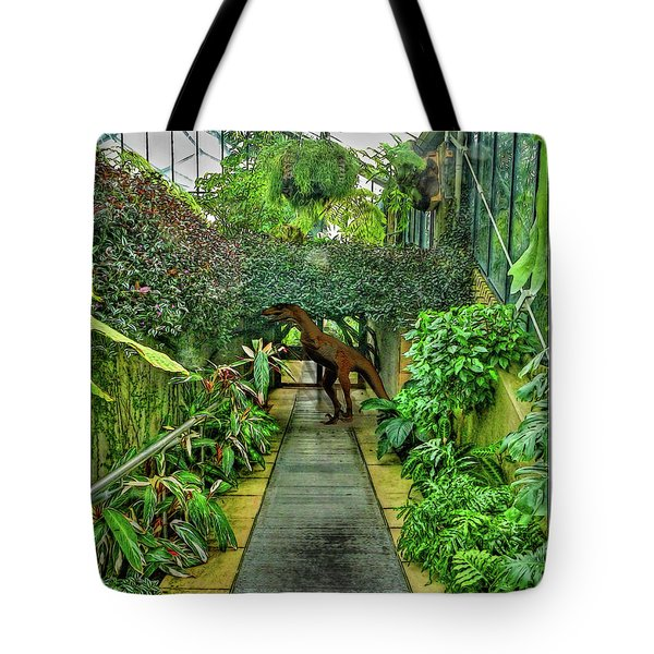 Raptor Seen In Kew Gardens Tote Bag