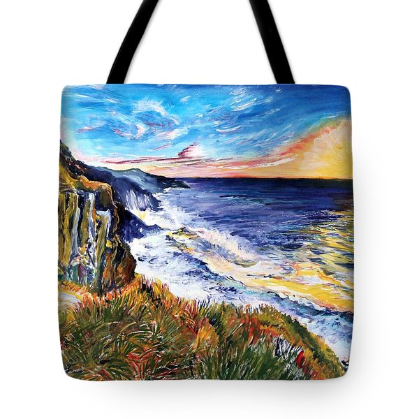 Rapturous Sunset Tote Bag