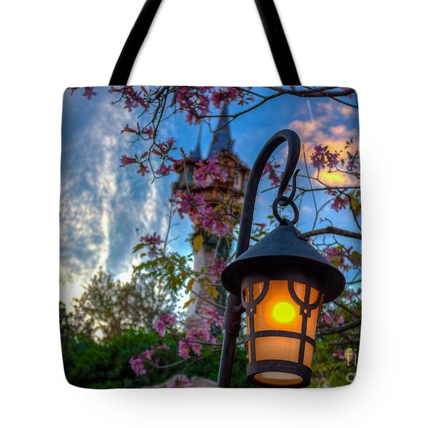 Rapunzel Let Down You Hair Tote Bag
