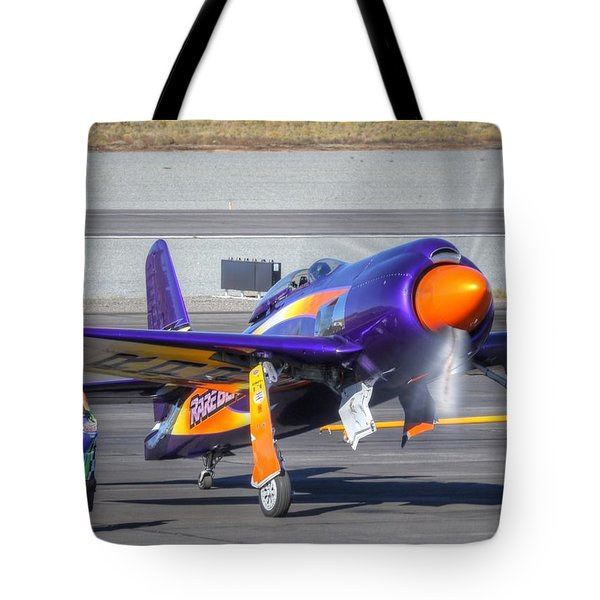 Tote Bag featuring the photograph Rare Bear Startup by John King