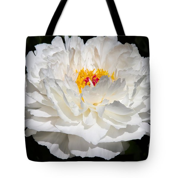 Rare China Peony Tote Bag by Chris Scroggins