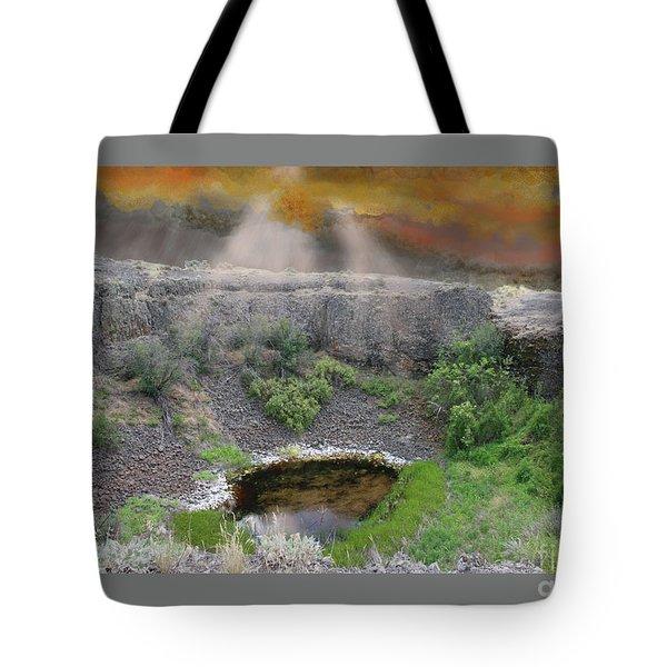 Rare Light  Tote Bag