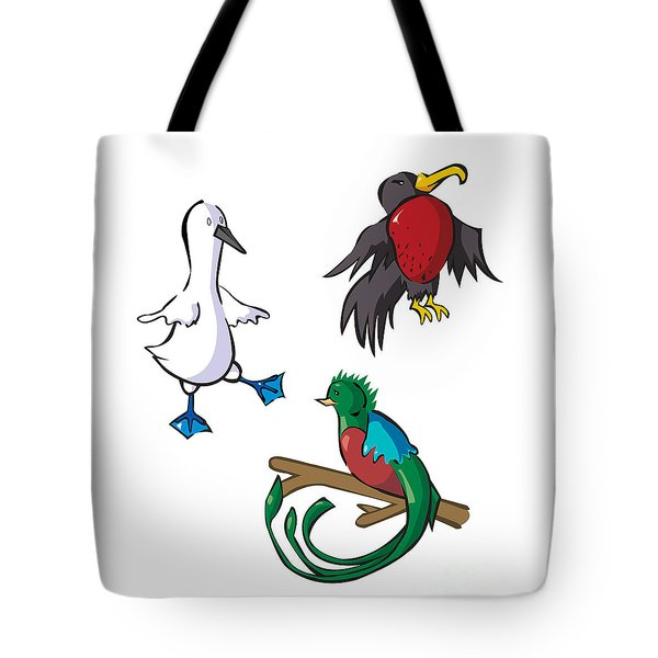 Rare Old Birds Tote Bag