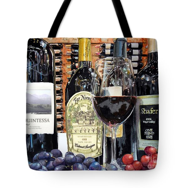 Tote Bag featuring the painting Rare Vintage by Gail Chandler
