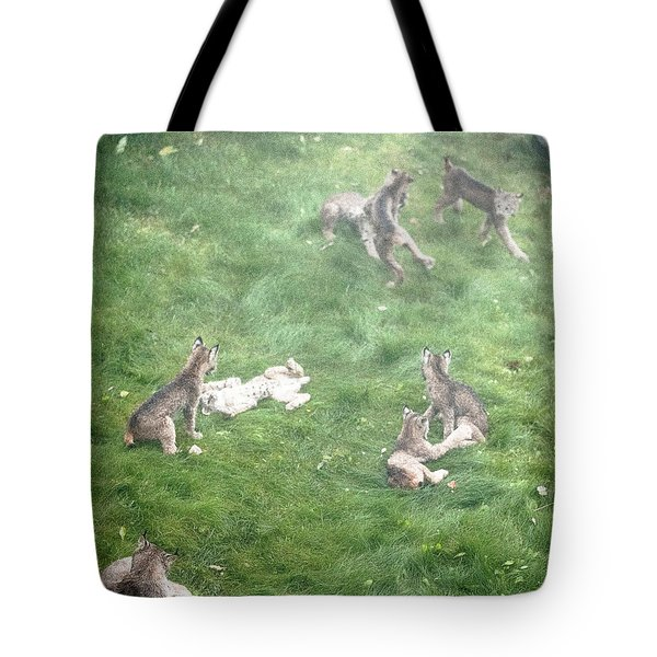 Play Together Prey Together Tote Bag