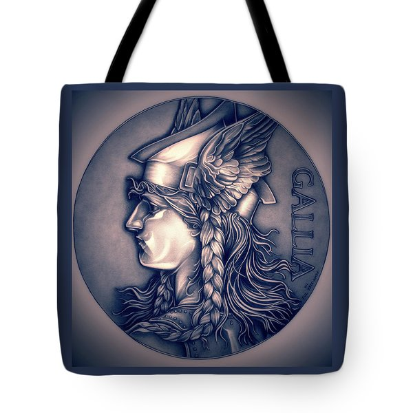 Rasberry Goddess Of Gaul Tote Bag by Fred Larucci