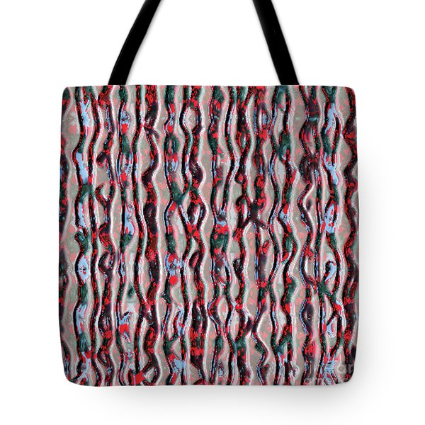 Tote Bag featuring the photograph Raspberry Patern by Yulia Kazansky