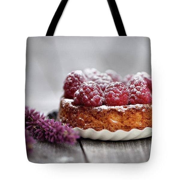 Raspberry Tarte Tote Bag