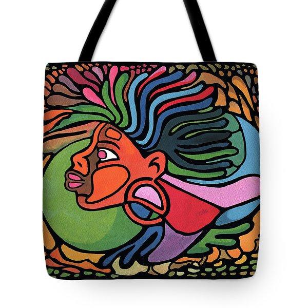 Rasta Queen Tote Bag