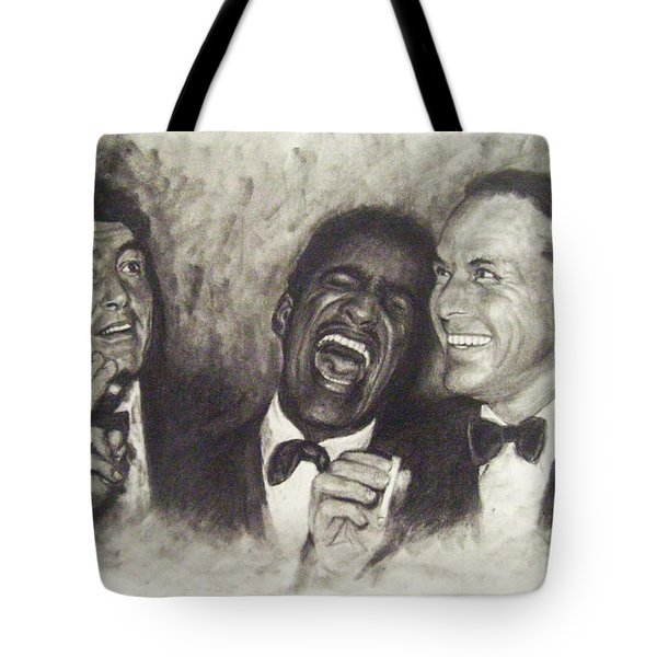 Rat Pack Tote Bag by Cynthia Campbell