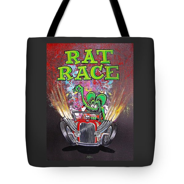 Rat Race Tote Bag