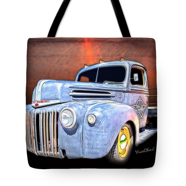 Rat Rod Flatbed Truck Texana Tote Bag