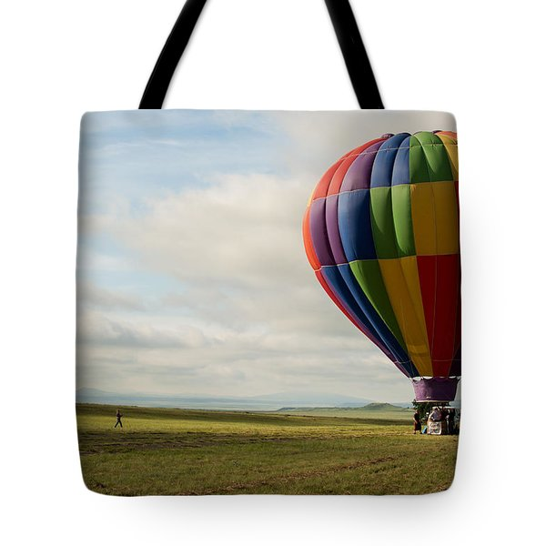Raton Balloon Festival Tote Bag