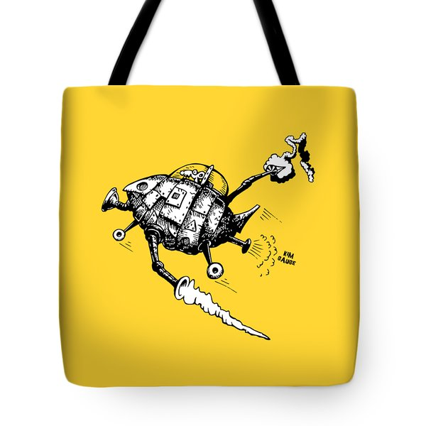 Rats In Space Tote Bag