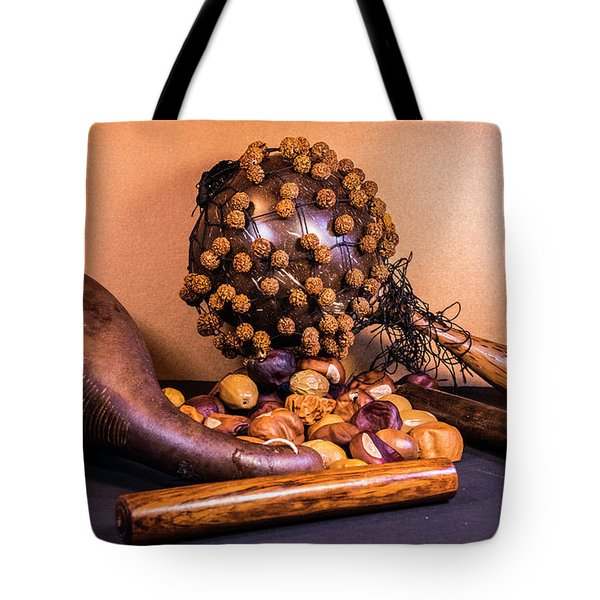 Rattle And Scored Gord Musical Instruments Tote Bag