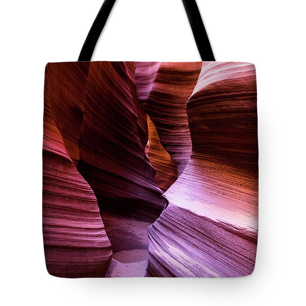 Tote Bag featuring the photograph Rattlesnake Canyon by Stephen Holst