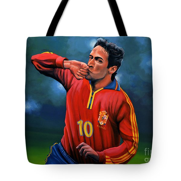 Raul Gonzalez Blanco Tote Bag
