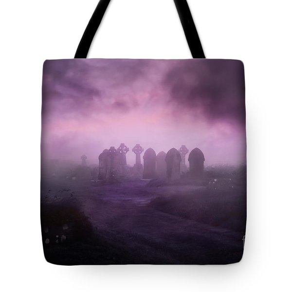 Rave In The Grave Tote Bag