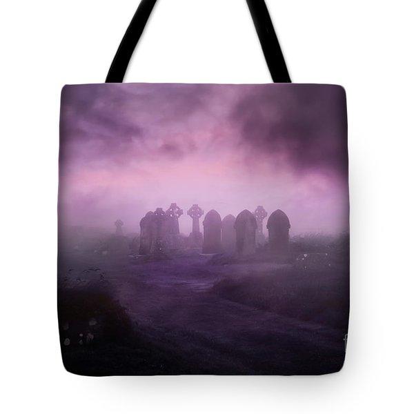 Rave In The Grave Tote Bag