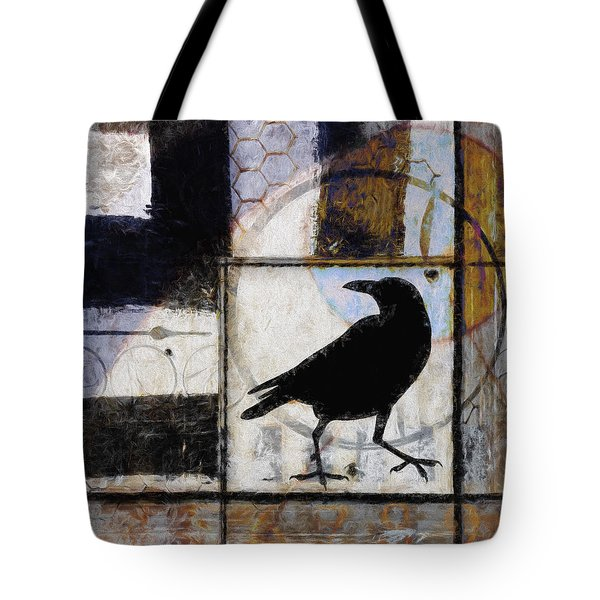 Raven Ahead Of Time Tote Bag