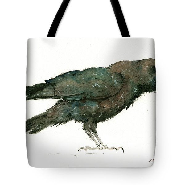 Raven Bird Tote Bag