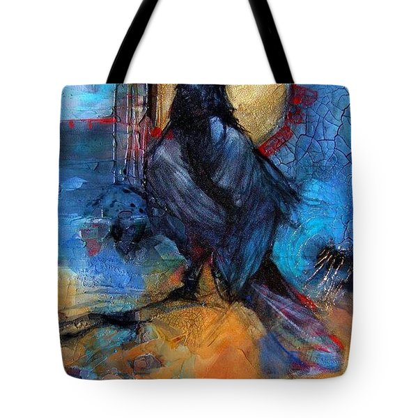 Raven Blue Tote Bag