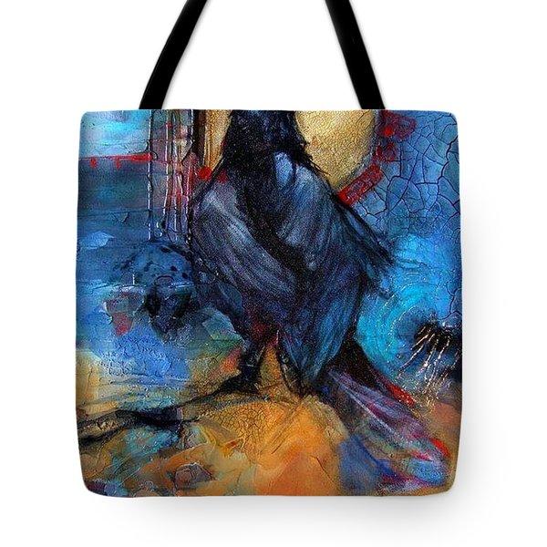 Raven Blue Tote Bag