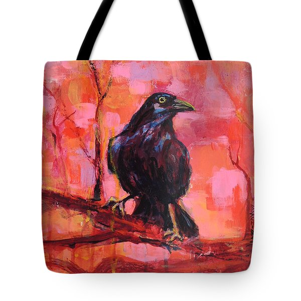 Raven Bright Tote Bag
