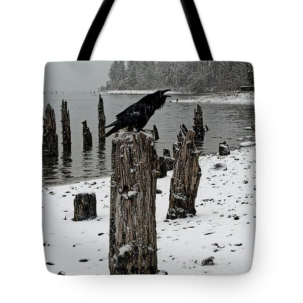 Raven Call Tote Bag